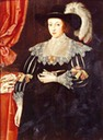 1628 Lady Anne Fanshawe by Marcus Gheeraerts the Younger (Valence House Museum, London)