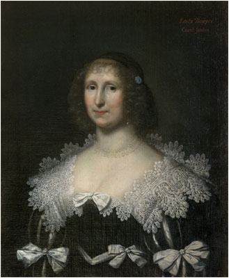 1630s Lady Hester Bowyer by Johnson (UK Government Art Collection)