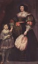 1631 Charlotte Butkens, mistress of Anoy, with her son by Sir Anthonis van Dyck (Schlossmuseum, Schloss Friedenstein)
