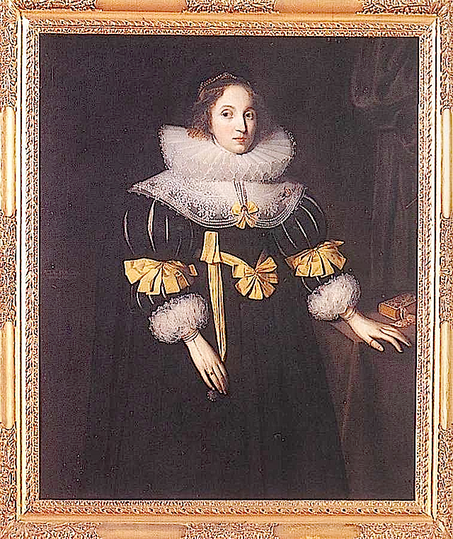 1631 Lady Anne Ruhout by Gheeraerts the Younger (Groeninge Museum, Bruges Belgium)