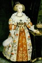 1634 Queen Christina of Sweden by Jacob Heinrich Elbfas (location unknown to gogm)