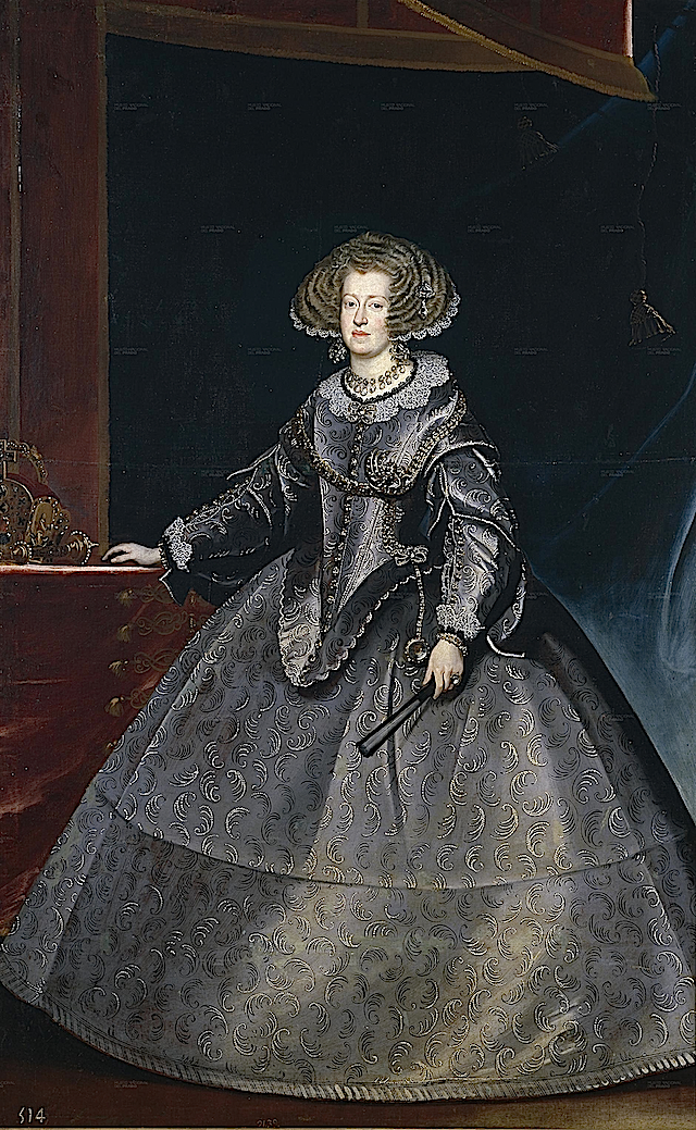 1635 Maria of Austria, Queen of Hungary by Franz Luycks (Prado)