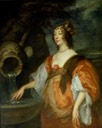 1637 Lucy Percy, Countess of Carlisle by Sir Anthonis van Dyck (Ham House - Richmond, London, UK)