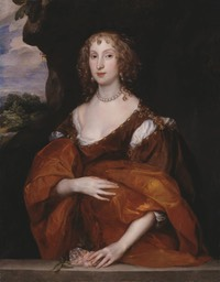 1638 Mary, Lady Killigrew by Sir Anthonis van Dyck (Tate Collection - London UK)