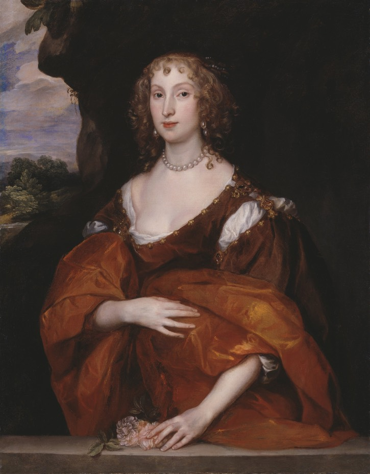 1638 Mary, Lady Killigrew by Sir Anthonis van Dyck (Tate Collection - London UK) Google Art Project via Wm despot