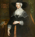 1639 Catherine Lucas, Lady Pye by Henry Giles (Bradenham Manor - Bradenham, Buckinghamshire, UK) From the1642goodwyfe.wordpress.com/page/7/ X 2
