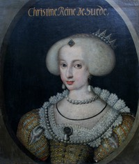 1640 or 1642 Queen Christine of Sweden by ? (location unlnown to gogm) Wp