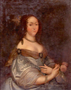 1645 Ludovica Maria Gonzaga Nevers regina di Polonia by Justus van Egmont (location unknown to gogm) Wm X 1.5 shadows