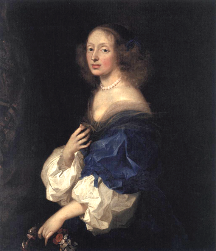 1652-1653 Countess Ebba Sparre by Sébastien Bourdon (National Gallery of Art - Washington, DC, USA) From lib-art.com:art-prints:countess-of-el-carpio.html inc. exp. fill in shadows