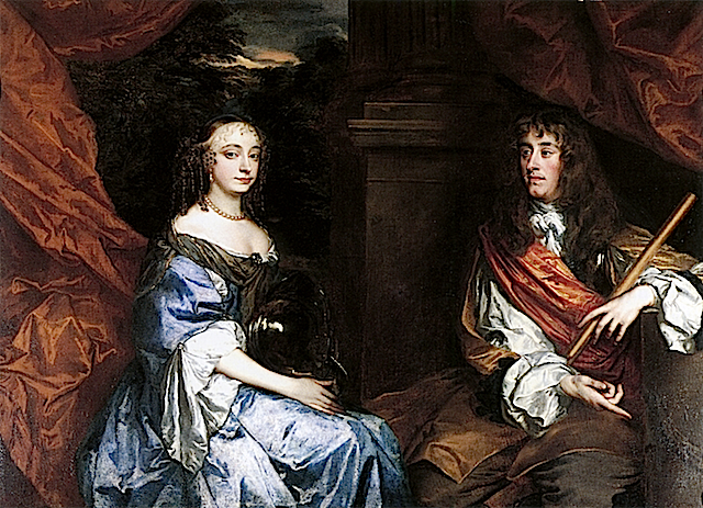 1660s James II and Anne Hyde by Sir Peter Lely