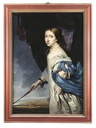 1661 Queen Christina of Sweden by Abraham Wuchters (Skoklosters slott - Skoklosters Sweden)