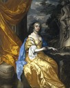 ca. 1661 Anne Hyde, Duchess of York (1637 - 1671), first wife of James VII and II by Sir Peter Lely (National Galleries of Scotland, Edinbugh)