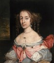 1662-1665 Margaret Spencer, Lady Arundell of Wardour by John Michael Wright (Trerice - Newquay, Cornwall, UK) From artuk.org
