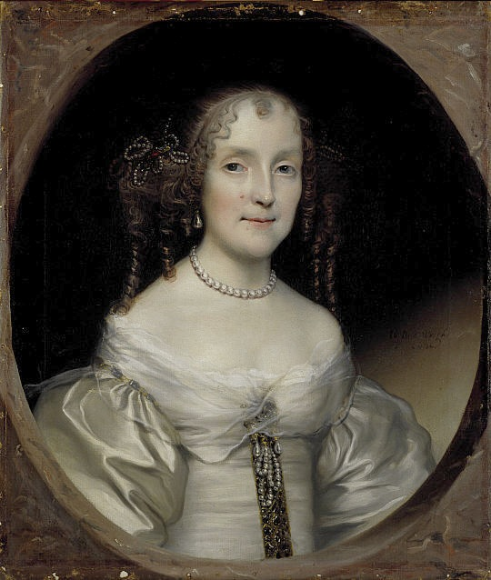 1662 Susanna Hamilton, Countess of Cassillis by Wright (National Galleries of Scotland) REPOST
