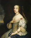 1663 or later (estimated) Gabrielle-Louise de Saint-Simon (1646-1684), duchesse de Brissac by Beaubrun Brothers studio (Châteaux de Versailles et de Trianon - Versailles, Île-de-France, France)