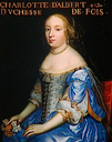 1664 Madeleine Charlotte d'Albert d'Ailly, Duchesse de Foix in her wedding dress by the Beaubrun brothers studio (Châteaux de Versailles et de Trianon - Versailles, Île-de-France, France)