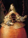 1665 Infanta Margarita Teresa of Spain, attributed to Francisco Ignacio Ruiz de la Iglesia (location unknown to gogm) From pinterest.com:nataleto:history-of-fashion-1630-1719-years: X 1.5