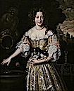 ca. 1670 Louise de Kerouaille by Henri Gascar (Auckland Gallery of Art, Auckland New Zealand)