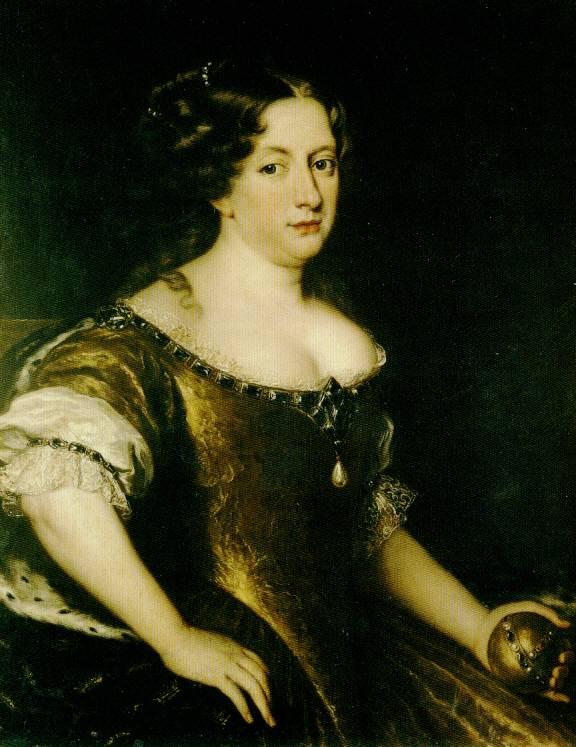 1670 cristina queen of sweden by jacob ferdinand voet grand ladies