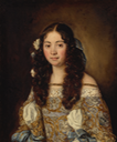 1675 (before) Laura Chigi by Jacob Ferdinand Voet (auctioned by Sotheby's) From Sotheby's Web site despot decrack