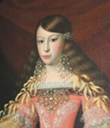 1682 (after) María Josefa von Harrach, German noblewoman who was a menina (Lady-in-waiting) to Maria Anna of Austria, Queen of Spain by ? (Hradek Nechanic, Czech Republic) angle corrected