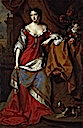 1683 Princess, later Queen, Anne at the time of her marriage by Willem Wissing and Jan van der Vaart (National Gallery of Scotland, Edinburgh)