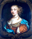 1686-1690 (betwen) Winifred, Countess of Coventry, by Otto Hoynck (location unknown to gogm)