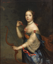 1690 Pauline de Grignan, Marquise de Simiane (1674-1737) as Diana by Jean Nocret (location ?) From jeannepompadour.tumblr.com/post/146627419340/a-portrait-of-pauline-de-grignan-marquise-de despot deflaw