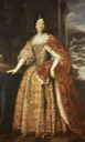 1700 (after) Anne Marie d'Orléans (1669-1728) while Duchess of Savoy wearing the robes of Savoy and the coronet by ? (La Venaria Reale - Torino, Piemonte, Italy)