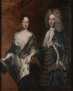 1700 Frederick IV (1671-1702), Duke of Holstein-Gottorp, and his spouse Hedvig Sophia attributed to David von Krafft (Nationalmuseum - Stockholm, Sweden) Wm