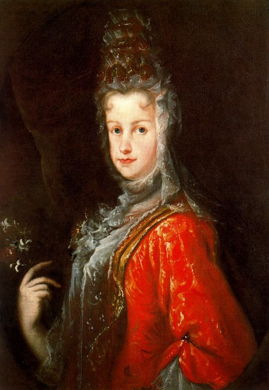 1702 Maria Luisa Gabriela de Saboya attributed to Miguel Jacinto Melendez (Royal Collection)_