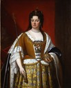 ca. 1705 Queen Anne by Kneller studio (Philip Mould)