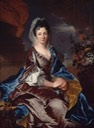 1707 Marquise d'Usson de Bonnac, possibly Françoise Madeleine de Gontaut Biron, by Hyacinthe Rigaud (Nelson-Atkins Museum - Kansas City, Missouri, USA) From youhuaaa.com:page:painting:show.php?id=37987removed print in lower right