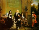 ca. 1710 Louis XIV of France and his family attributed to Nicolas de Largillière (Wallace Collection - London, UK)