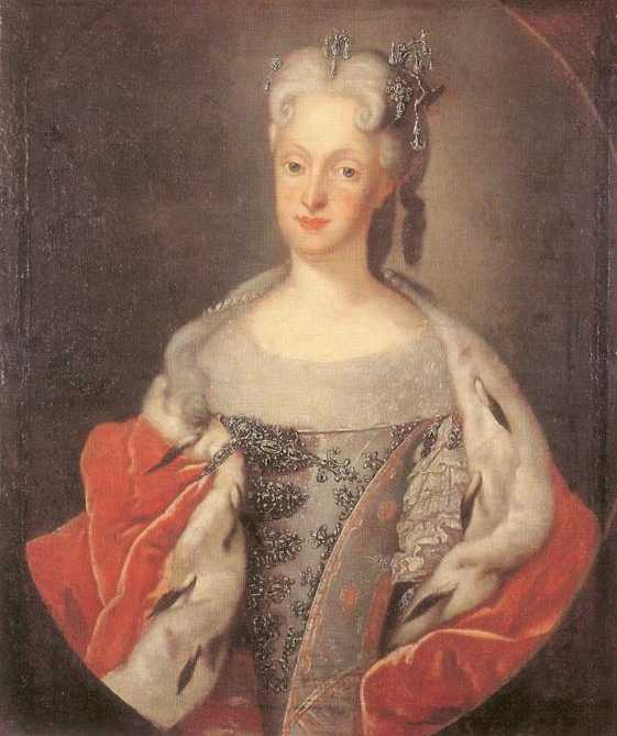1719 Marie-Josèphe d'Autriche by Louis de Silvestre (location unknown to gogm)