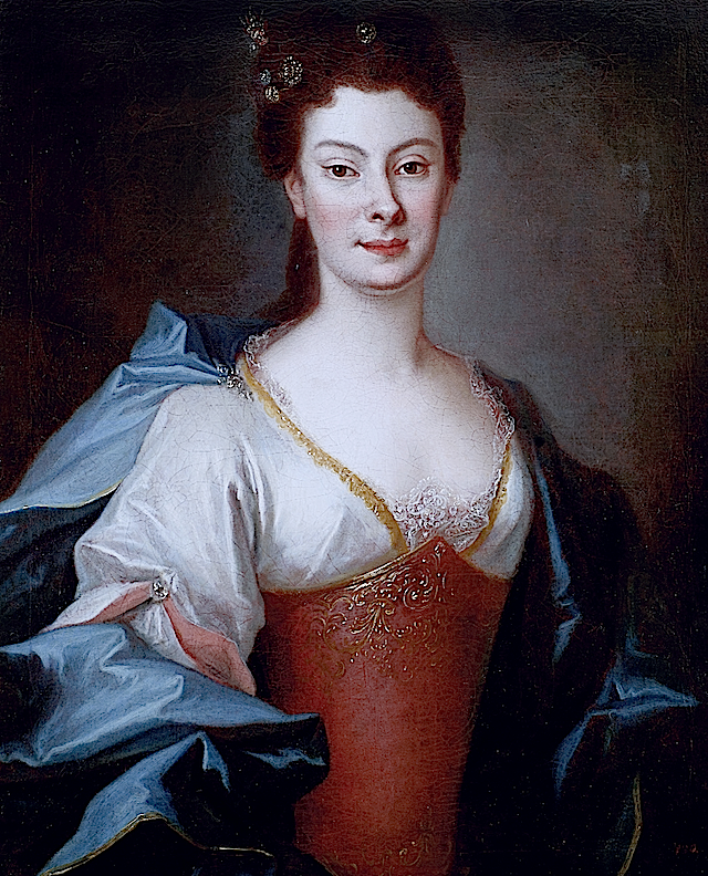 1724 Countess Orzelska by Louis de Silvestre (location unknown to gogm) Photo - Maciej Szczepańczyk