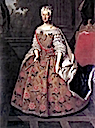 1736 Marie-Josèphe d'Autriche by Louis de Sivestre (location unknown to gogm)