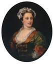 1740s Lavinia Fenton, Duchess of Bolton by William Hogarth (Tate Collection)