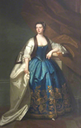 1741 Anna Catherine Vernon (1710-1757), Mrs. Richard Lockwood, by Enoch Seeman the Younger (Sudbury Hall - Sudbury, Ashbourne, Derbyshire, UK) bbc.co inc. exp trimmed
