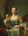 174(?)3 Marquise de Gast by Donatien Nonnotte (1708 - 1785) (auctioned by Sotheby's)
