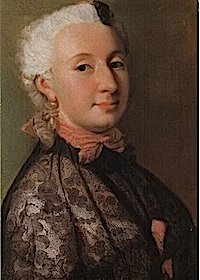 1745 Wilhelmine of Prussia by Jean-Étienne Liotard (location unknown to gogm)