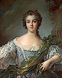 1748 Marie Louise Thérèse Victoire de France (Madame Victoire) after Jean Marc Nattier in pastel (Bonhams USA)