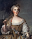 1748 Sophie de France by Jean-Marc Nattier (Versailles)