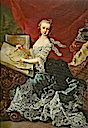 1750 Archduchess Marie Christine, Duchess of Teschen by Martin van Meytens (location unknown to gogm)