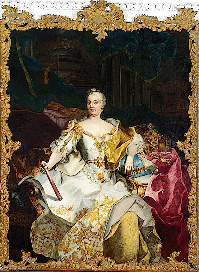 1750 Maria Theresia by ? (Schloss Eggenburg - Graz Austria) From www.museum-joanneum.at:en:schloss_eggenberg.jpg