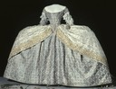 1751 Robe de cour coronation dress of Queen Lovisa Ulrika of Sweden (Royal Armoury, Skokloster Castle and The Hallwyl Museum - Stockholm Sweden)