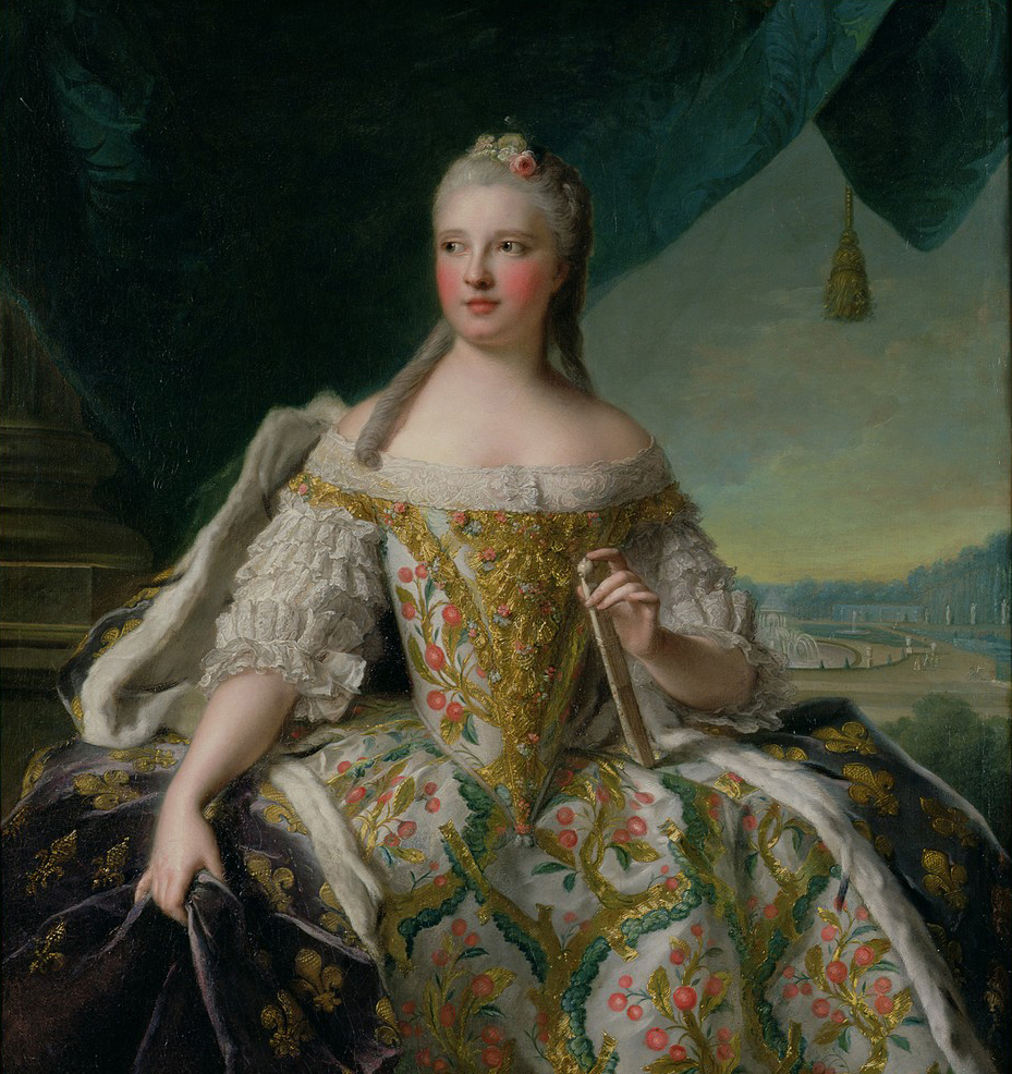 Saxe Video http://www.gogmsite.net/grand-ladies-of-the-eightee/subalbum-dauphine-marie-jos/1751-marie-josephe-of-saxon.html
