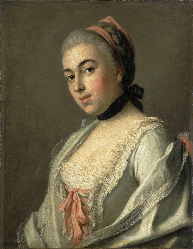 1756:1752 Countess A. M. Vorontsova by Pietro Antonio Rotari (Hermitage)