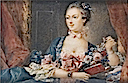 1757 Madame de Pompadour after Boucher (location unknown to gogm)