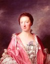 1760 Elizabeth Gunning, Duchess of Argyll by Allan Ramsay (private collection)